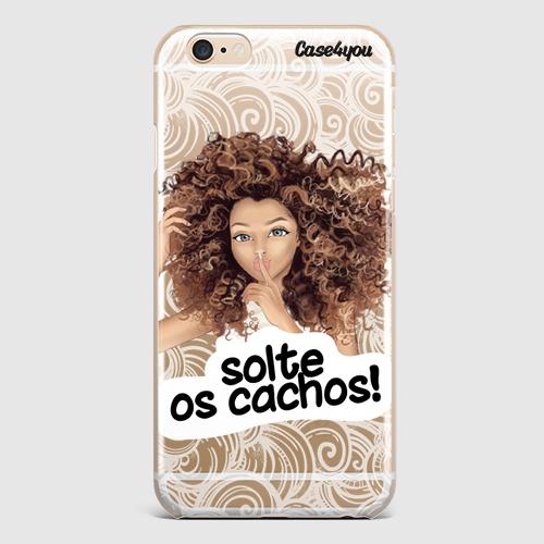 Capa Solte Os Cachos Coleção Frases Case4you